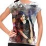 Camiseta Rock Nacional Pitty Paint Baby Look