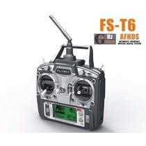 Rádio Flysky Fs T6 2.4ghz, 6 Canais