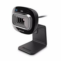 Webcam Microsoft Lifecam Hd 3000 Usb Hd C/ Microfone + Nfe