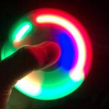Fidget Hand Spinner C/led Finger Toy Anti Stress Promoção