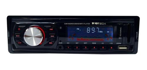 Estéreo Ydtech 81677 Com Usb E Leitor De Cartão Sd