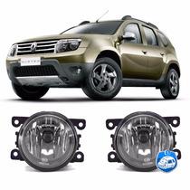 2 Faróis De Milha/neblina Renault Duster 2013/14 Dlaa