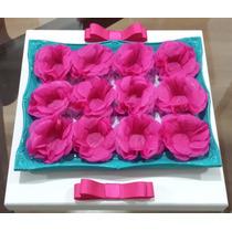 Forminhas De Doces Finos De Papel Crepom Pink