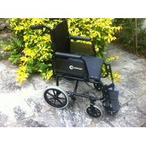 Cadeira De Rodas Praticamente Nova, Dobrável, Com Nf E Manua