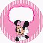 Arte Para Rotulo Festa Infantil Personalizado Mickey Minnie