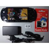 Psp Original Playstation Desbloqueado Semi Nv 156 Jogos+32gb