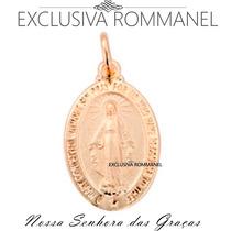 Rommanel Medalha Oval Imagem Nossa Senhora Das Graças 540501