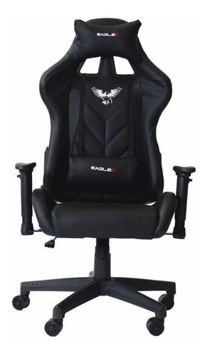 Cadeira De Escritório Cadeiras Inc Eaglex Jogador Ergonômica Preta