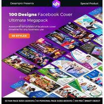 Kit De Capas Para Facebook Editáveis Em Psd (facebook Cover)