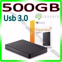 Hd Externo 500gb Usb 3.0 E 2.0 Seagate Exp Portátil Original