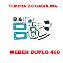 Kit Reparo Carburador Tempra 2.0 Gas Weber Duplo 460
