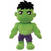 Boneco Hulk Grande Em Pelúcia Antialérgico C/ Display