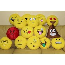 Almofada Pelúcia Travesseiro Emoticon Emoji Whatsapp Atacado