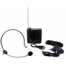 Kit Amplificador Microfone Professor Aula Palestra A006