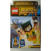 Boneco Wolverine Lego Super Heróis