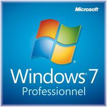Chave/licença Windows 7 Professional - Ativação Online
