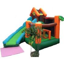 Playground Criança Tobogã Escorregador Inflável Elétrico