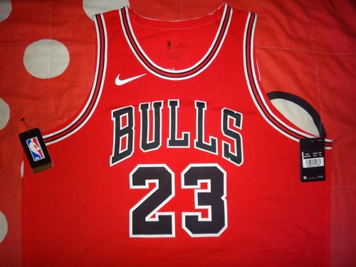 Camisa Basquete Michael Jordan Chicago Bulls Jogo Nike. R  1500 dfbe740997541