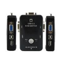 Kit Chaveador Kvm Switch 2 Portas-2 Pcs/cpu Com Cabos