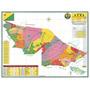Mapa Geo Político E Rodoviário Estado Do Acre - Frete Grátis