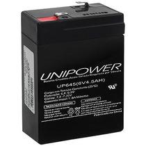 Bateria 6v 4,5ah (up645seg) Unipower