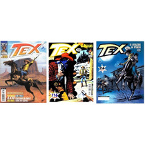 Revista Tex Kit 07 Com 03 Un. N° 402, 403 E Tex Coleção 200