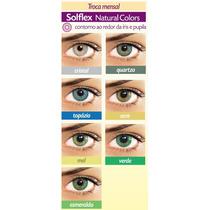 Lentes De Contato Solflex Colorida - Solótica - Frete Grátis