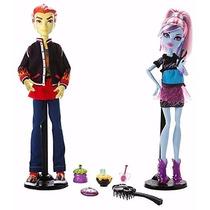 Boneca Monster High Home Ick Abbey Bominable E Heath Burns