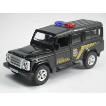 Land Rover Defender Policia Federal 1/32 Exclusivo Lançament