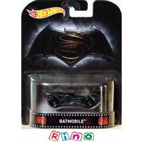 Hot Wheels Retro 2016 Batmobile Batman Vs Superman - Mattel