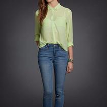 Camisa Social Feminina Chiffon Casual Hollister Original