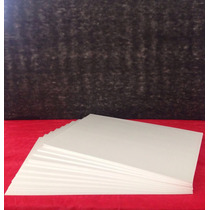 10 Chapas (xps) Depron Branco 2mm-spumapac 99cmx68,5cm