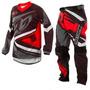 Kit Camisa + Calça Motocross Trilha Pro Tork Insane 4