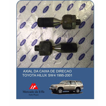 Axial Caixa Direção Toyota Hilux Sw4 3.0 T 97/02 (par)
