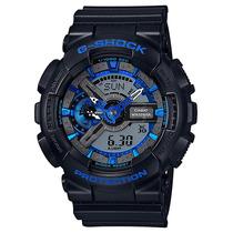 Relógio Casio G-shock Ga-110cb-1a Preto Azul
