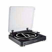 Audio Technica At-lp60 Black Toca Discos Stereo Automatico