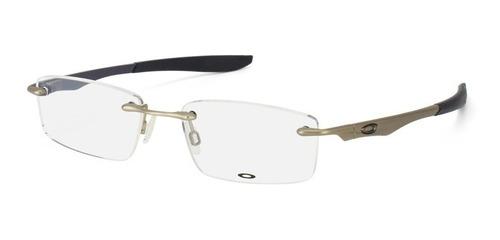 9fca9b963 Armação De Oculos Descanso Modelo Evade 22-173 Prata Black