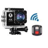 Câmera Esporte Capacete E Mergulho Full Hd 1080p + Controle