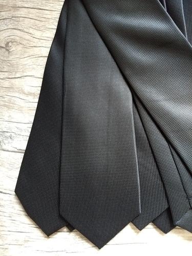 a29f5619ded Gravata Preta Trabalhada Semi Slim Para Padrinhos 4