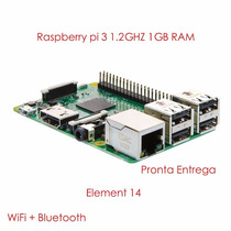 Raspberry Pi 3 Pi3 Model B Quadcore 1.2ghz 1gb Ram Inf-rfi3