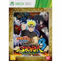 Naruto Shipudden Ultimate Ninja Storm 3 Full Burst Xbox 360
