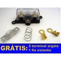 Kit Instalação Porta Fusivel Midi + Fusivel 100a + 2 Brindes