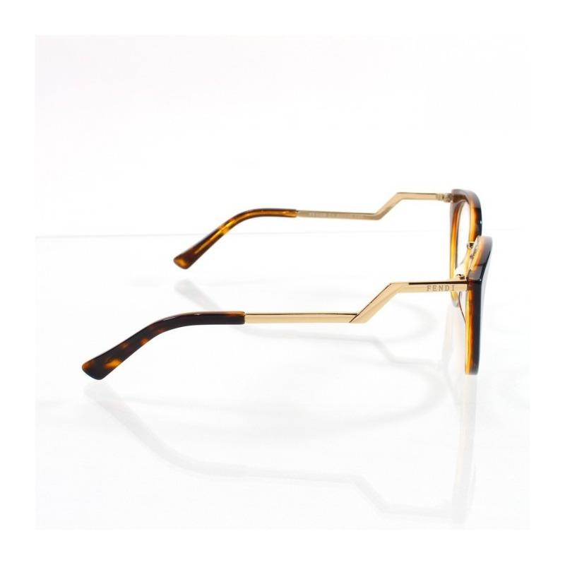 ec43c5ae16142 Armação Para Grau De Grau Oculos Fendi Orchidea Ff0118 s em ...