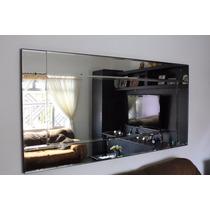 Espelho Bisote 1,40m X 1,40m Não Veneziano/ Vintage/ Grande