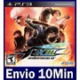 The King Of Fighters Xiii 13 Kof Play 3 Ps3 Código Psn
