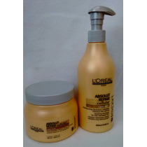 Loreal Absolut Repair Cellular Shamp 500ml + Masc 500ml