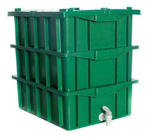Kit Composteira 15 Litros ( Sem Minhocas )