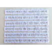 Régua Cortador Letras E Números P/ Pasta Americana