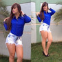 Camisa Polo Blusas Feminina Social Lindas Elegantes
