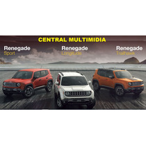 Central Multimidia Jeep Renegade 9 Polegadas Com Phonelink..